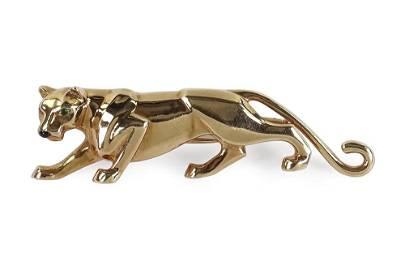 A Cartier Panther Brooch.