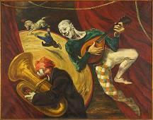 Georges Schreiber (Belgian-American, 1904-1977) Brass