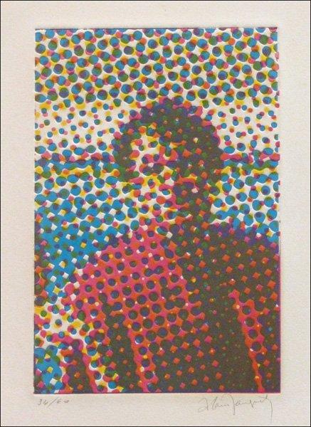 726005: ALAIN JACQUET (FRENCH 1939-2008) MAN.