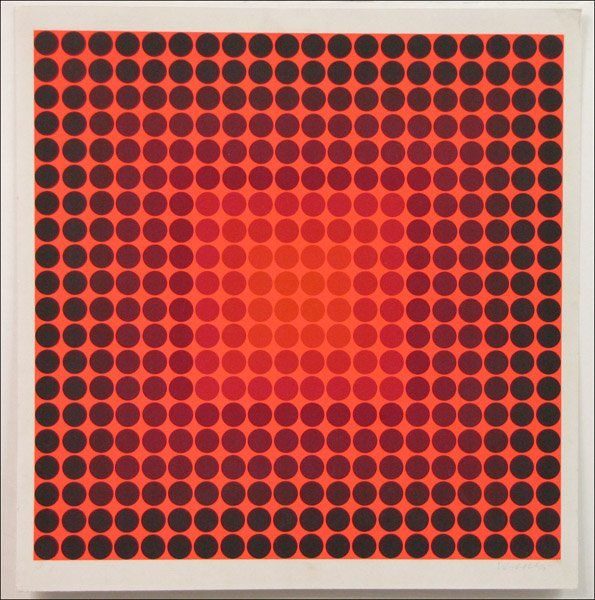726007: VICTOR VASARELY (FRENCH/HUNGARIAN 1908-1997) YK