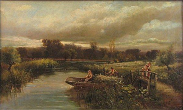 726023: JOHN CLAYTON ADAMS (BRITISH 1840-1906) LAKEVIEW