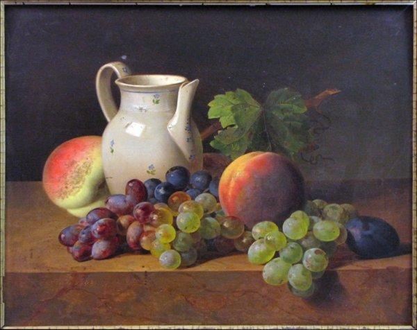 726024: FERDINAND KUSS (AUSTRIAN 1800-1886) STILL LIFE