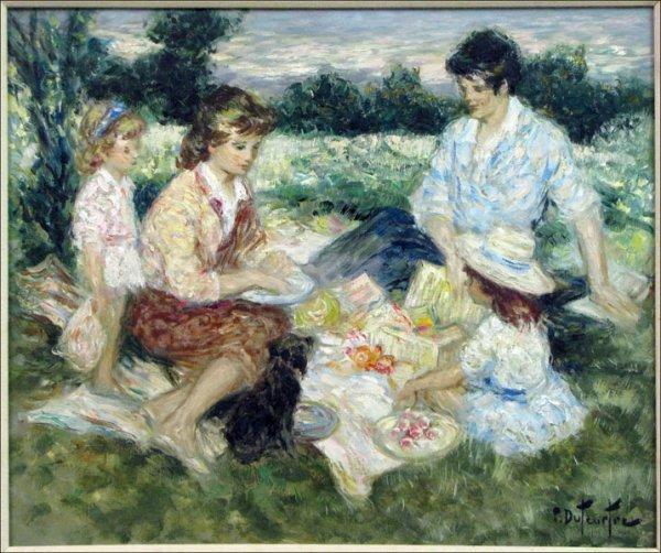726025: PIERRE EUGENE DUTEURTRE (FRENCH 1911-1989) DEJE