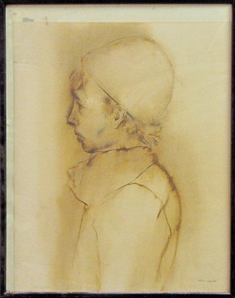 726083: RAFAEL CORONEL (MEXICAN, B.1932) PORTRAIT IN PR