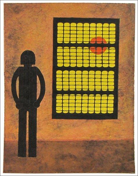 726087: RUFFINO TAMAYO (MEXICAN 1899-1991) HOMBRE EN LA