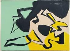 726158: SIDNEY GORDIN (AMERICAN 1918-1996) UNTITLED ABS