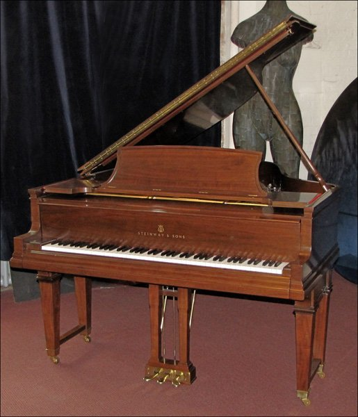 731009: STEINWAY AND SONS GRAND PIANO.