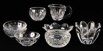 732067 THREE WATERFORD CRYSTAL DISHES