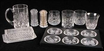 732068: FOUR WATERFORD CRYSTAL TUMBLERS.