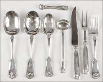 734006 TIFFANY  CO STERLING SILVER SERVING PIECES IN
