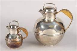 734049: DANISH MODERN STYLE STERLING SILVER COFFEE POT