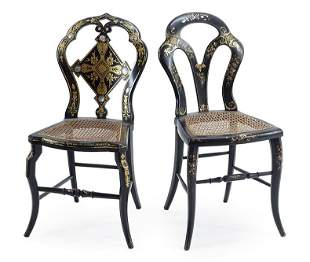 Two Victorian Chairs.