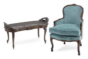A Louis XV Style Bergere.