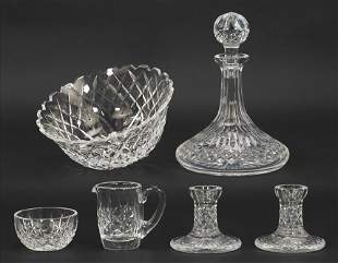 A Collection of Waterford Crystal Table Articles.