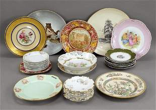 A Collection of Porcelain Table Articles.