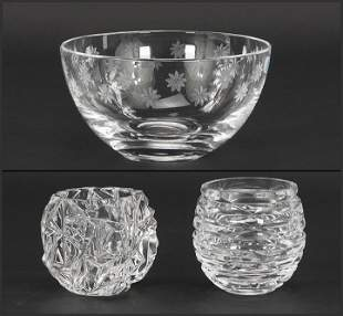 A Collection of Tiffany & Company Crystal Table