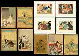 A Collection of Japanese Prints.