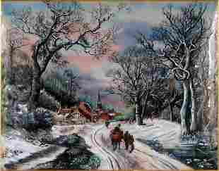 Jean Paul Loup (French-American, Contemporary) Winter
