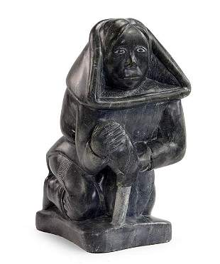An Inuit Carving.