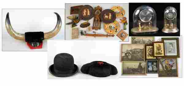 742116: COLLECTION OF MISCELLANEOUS DECORATIVE TABLE AR