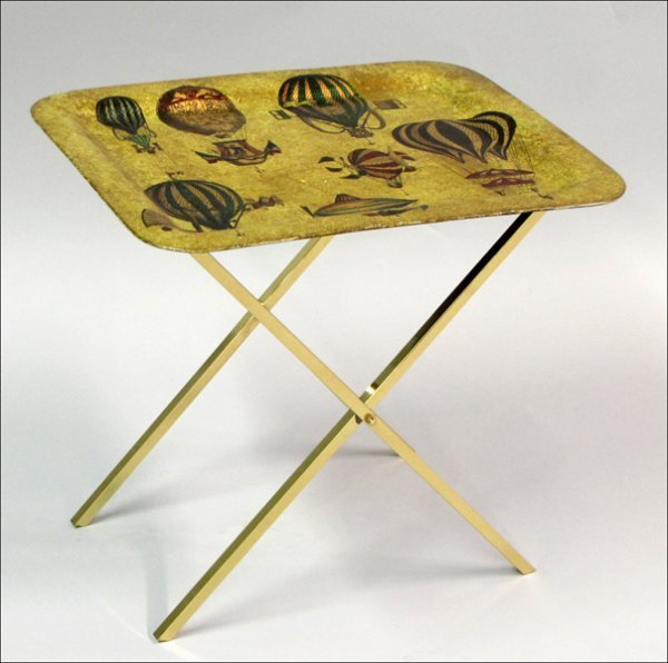 761002: PIERO FORNASETTI TRAY TABLE.