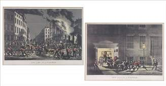 762176 CURRIER AND IVES THE LIFE OF A FIREMAN