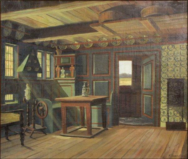 766093: FREDERIK WILHELM SVENDSEN (DANISH 1885-1975) IN