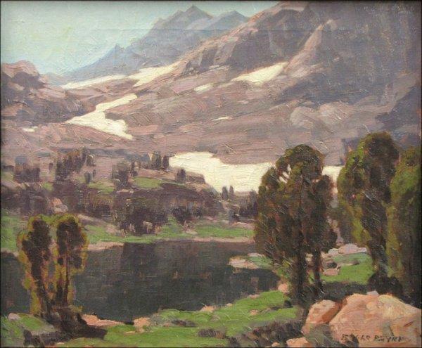 766201: EDGAR ALWIN PAYNE (AMERICAN 1883-1947) HIGH SIE