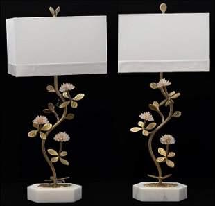 A Pair of John Richard Table Lamps.