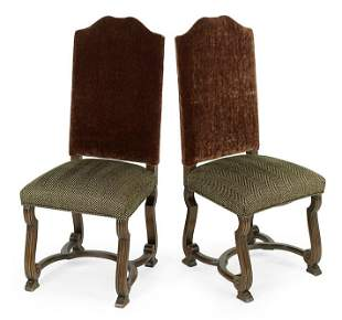 A Set of Six Dining Chairs.