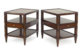 A Pair of Woodbridge Furniture Company Tables.