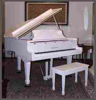 A Wm Knabe & Co Baby Grand Player Piano.