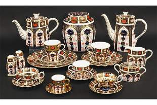 A Collection of Royal Crown Derby In the Old Imari