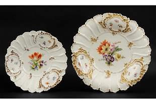 A Meissen Porcelain Table Service.