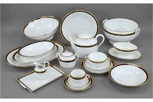 A Ginori Porcelain Dinner Service.