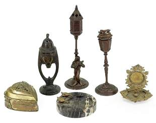 A Collection of Brass Table Articles.