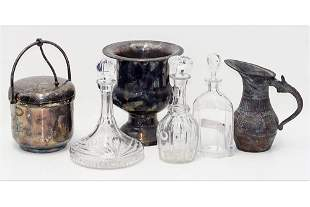 A Collection of Bar Accessories.