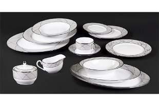 A Haviland Porcelain Dinner Service.