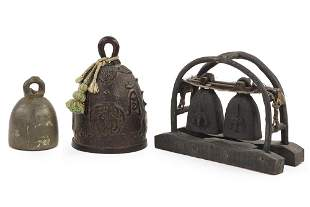 A Bronze Temple Bell.