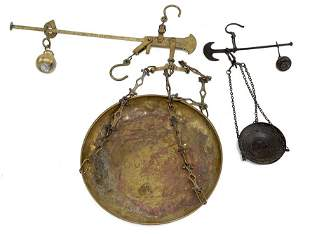 Two Hanging Scales.