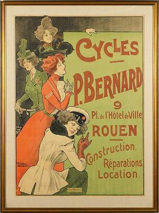 Paolo Henri (French, 19th/20th Century) Cycles P.