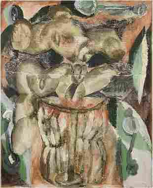 Roberto Juarez (American, B. 1952) Throw-Away Love.