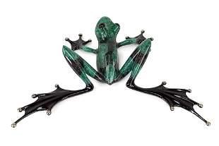 Tim Cotterill (British, B. 1950) Green Frog.