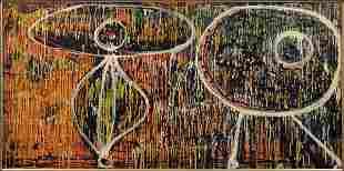 776068: ENRICO BAJ (ITALIAN 1924-2003) LEAKAGE, 1951.