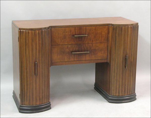 FRENCH ART DECO CABINET.