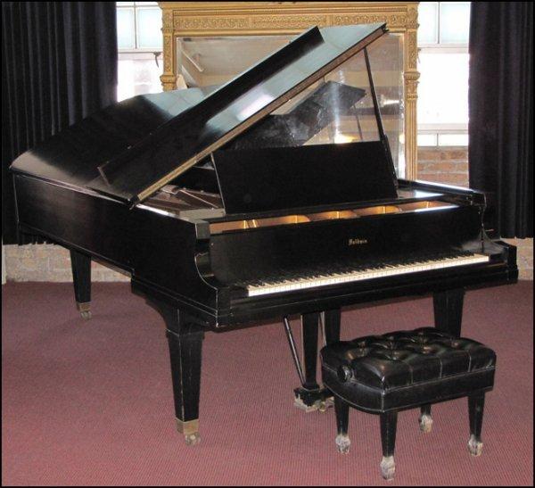 791016: BALDWIN CONCERT GRAND PIANO.