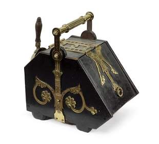 An Aesthetic Movement Coal Scuttle Attributed to