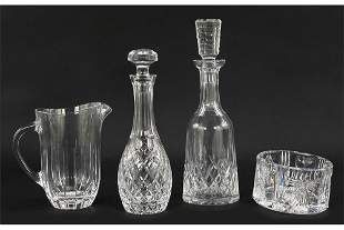 Two Waterford Decanters.