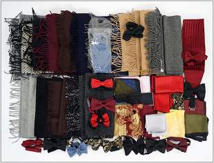 A Collection of Scarves.