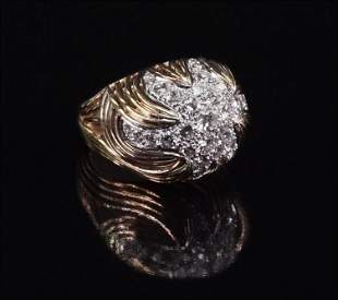 A Diamond Cocktail Ring.